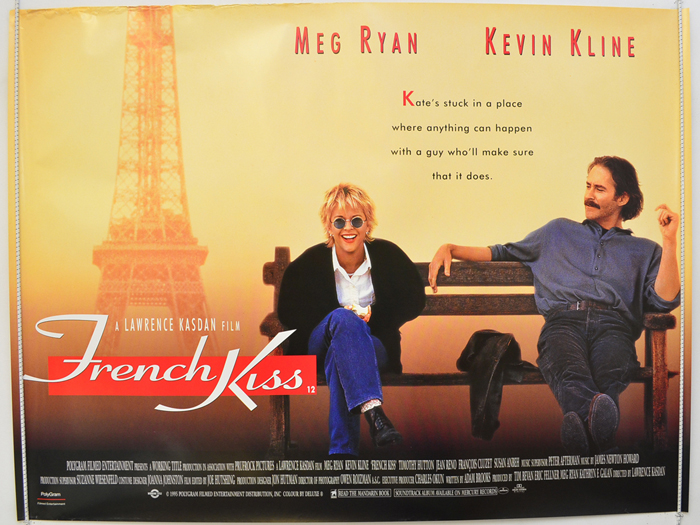 French Kiss Original Cinema Movie Poster From Pastposters