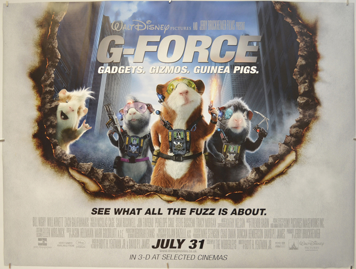 G-Force - Original Cinema Movie Poster From pastposters.com ...