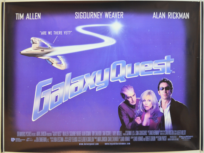 Galaxy Quest - Original Cinema Movie Poster From pastposters.com ...