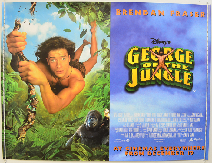 George Of The Jungle - Original Cinema Movie Poster From ...