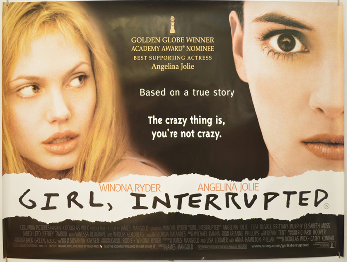 Girl Interrupted - Original Cinema Movie Poster From pastposters ...