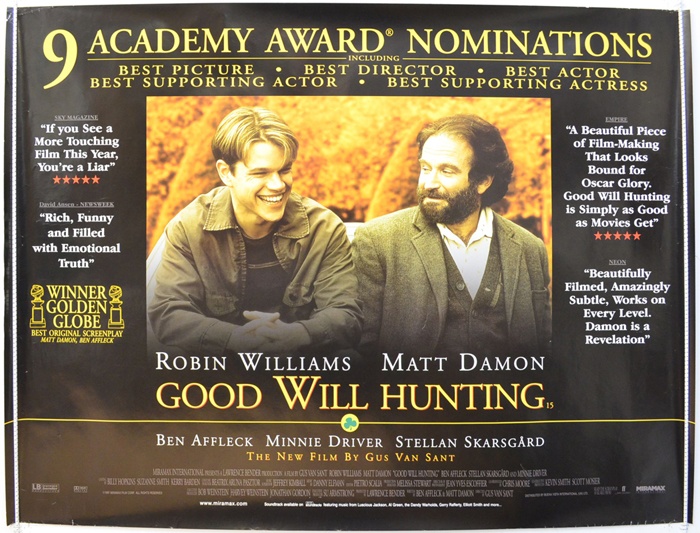 Good Will Hunting - Original Cinema Movie Poster From pastposters ...