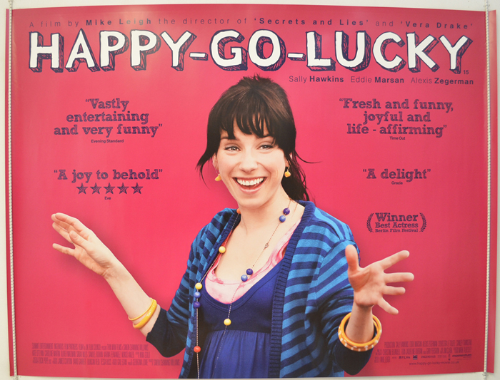 Happy-Go-lucky - Original Cinema Movie Poster From pastposters.com ...