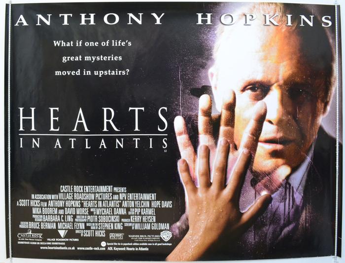 Hearts In Atlantis - Original Cinema Movie Poster From pastposters ...