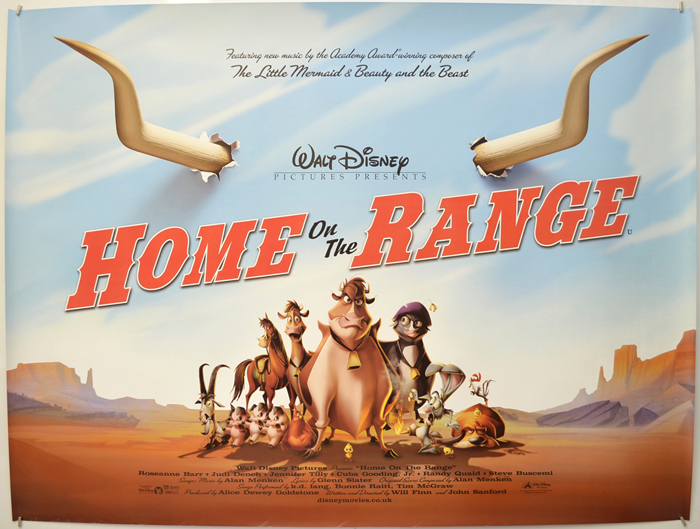 Home On The Range - Original Cinema Movie Poster From pastposters ...