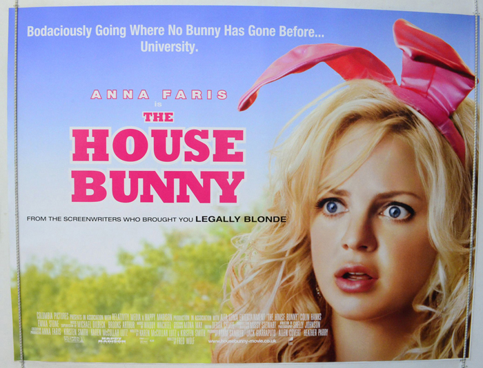 House Bunny (The) - Original Cinema Movie Poster From pastposters ...
