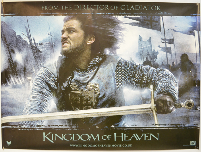 Kingdom Of Heaven P I Teaser Advance Version I P Original Cinema Movie Poster From Pastposters Com British Quad Posters And Us 1 Sheet Posters