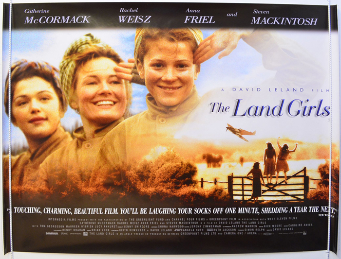 Land Girls (The) - Original Cinema Movie Poster From pastposters ...