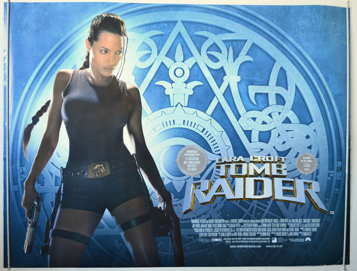 Lara Croft Tomb Raider Original Cinema Movie Poster From