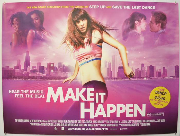 make it happen original cinema movie poster from