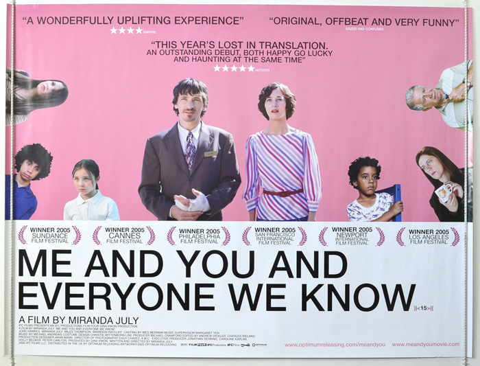 Me You And Everyone We Know <p><i> (Pink Background Version) </i ...