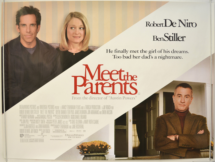 Meet The Parents - Original Cinema Movie Poster From pastposters.com British Quad Posters and US 1-Sheet Posters