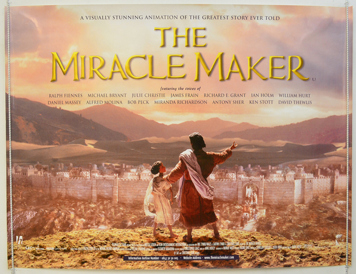 miracle maker the original cinema movie poster from pastposters