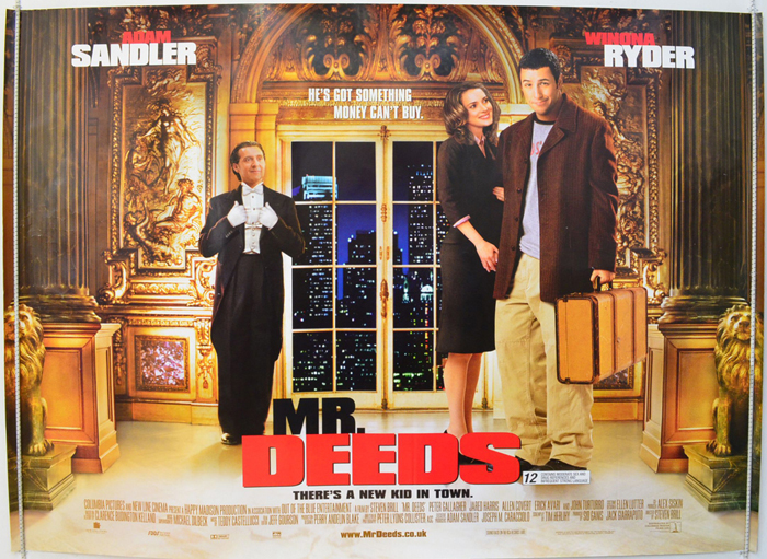 Mr Deeds Original Cinema Movie Poster From Pastposters Com British Quad Posters And Us 1 Sheet Posters