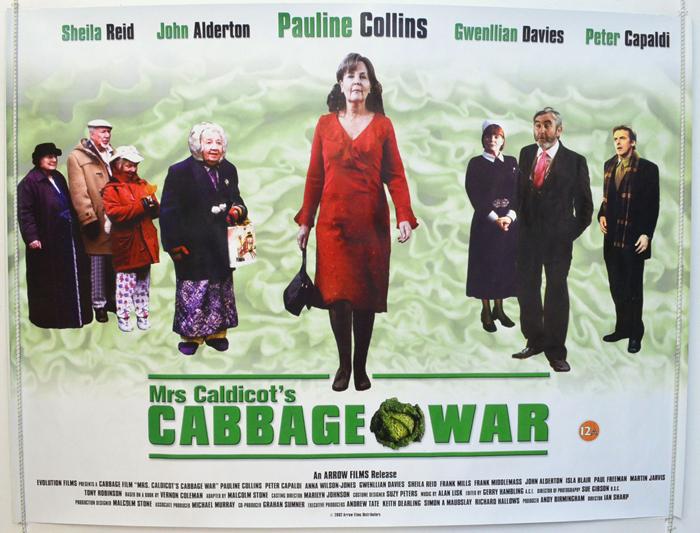 Mrs Caldicot's Cabbage War - Original Cinema Movie Poster From ...