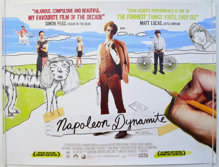 Resultado de imagen para napoleon dynamite poster