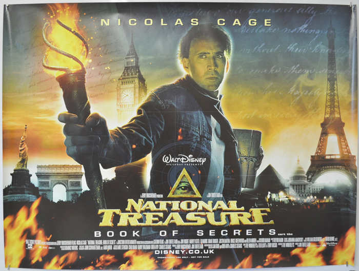 Image result for national treasure movie posters