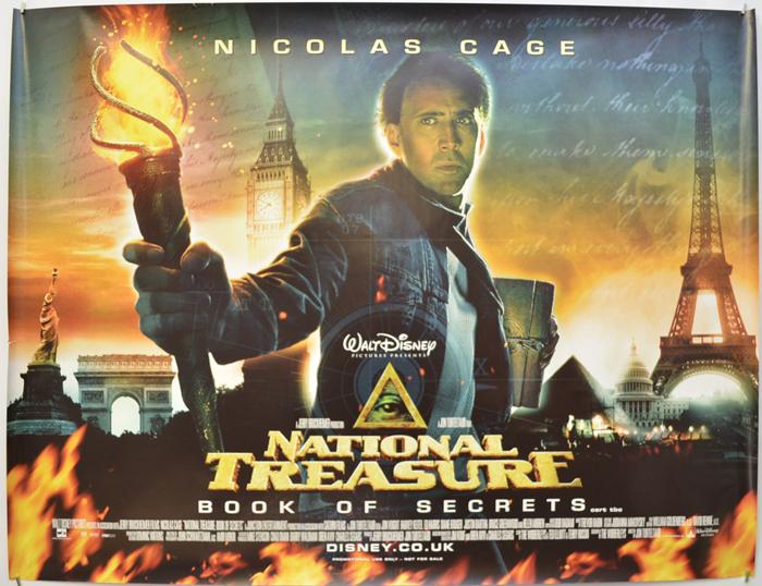 National Treasure : Book Of Secrets - Original Cinema Movie Poster ...