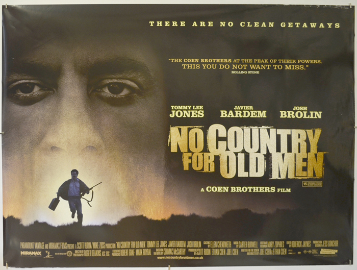 No Country For Old Men - Original Cinema Movie Poster From ...