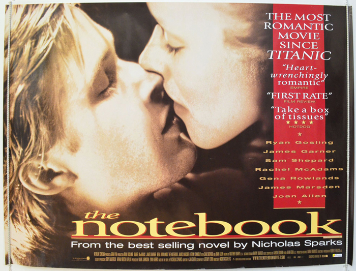 Notebook (The) - Original Cinema Movie Poster From pastposters.com ...