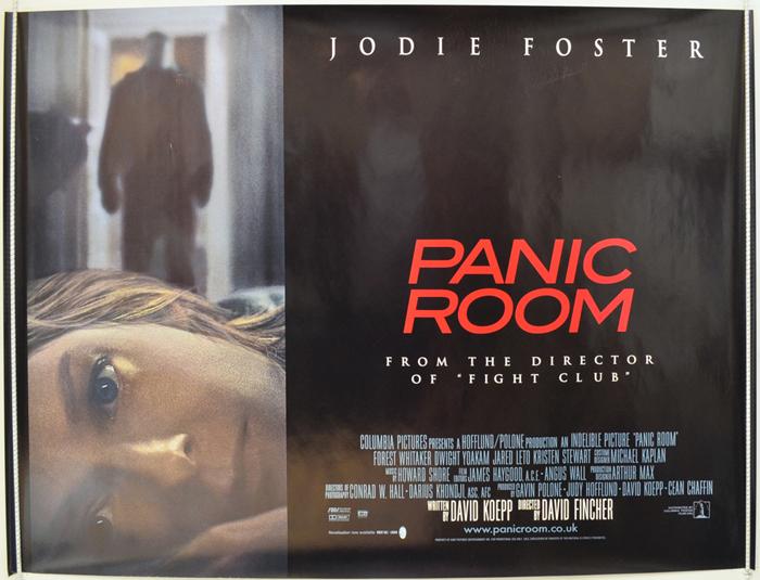 Panic Room - Original Cinema Movie Poster From pastposters.com ...