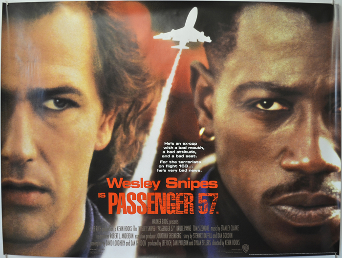 Passenger 57 - Original Cinema Movie Poster From pastposters.com ...
