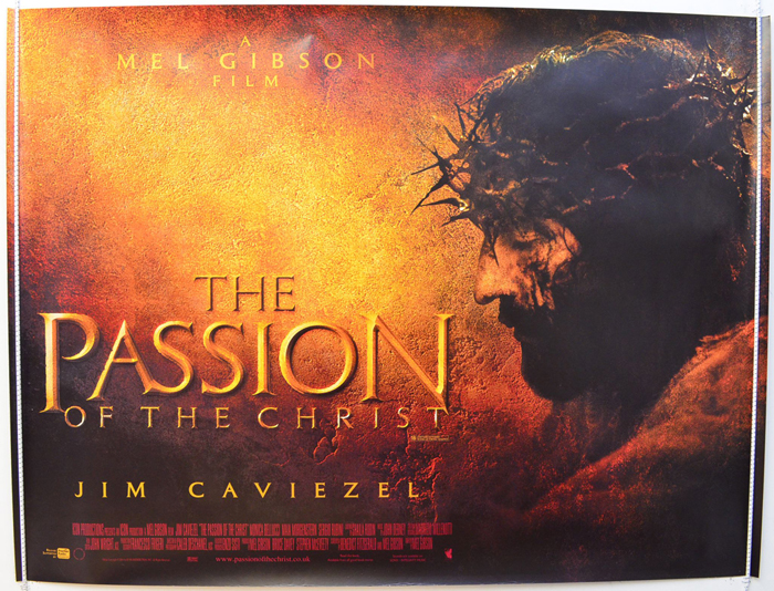 Passion Of The Christ (The) - Original Cinema Movie Poster From