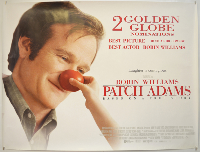 Patch Adams - Original Cinema Movie Poster From pastposters.com ...