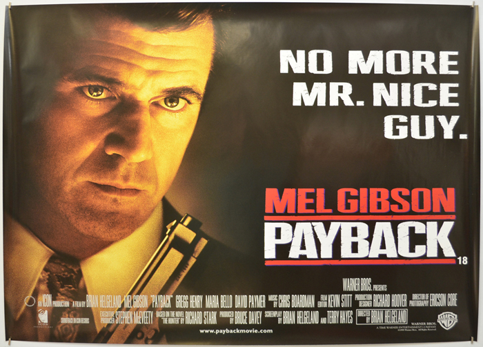 Payback - Original Cinema Movie Poster From pastposters.com ...