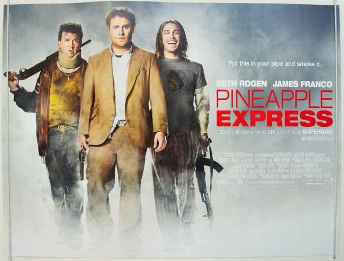 Pineapple Express - Original Cinema Movie Poster From pastposters ...