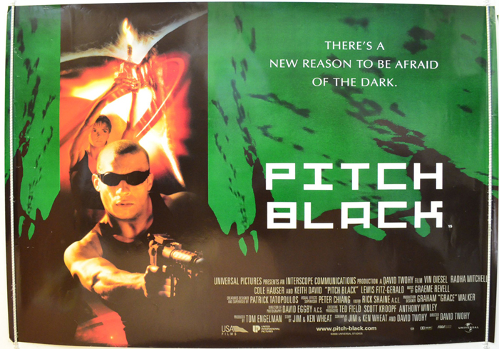 Pitch Black - Original Cinema Movie Poster From pastposters.com ...
