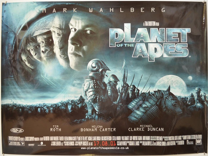 Planet Of The Apes - Original Cinema Movie Poster From pastposters ...