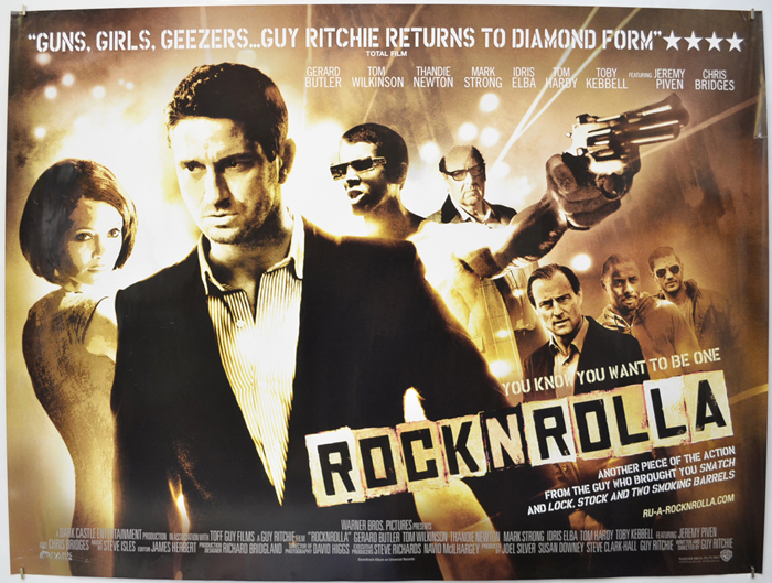 Rock N Rolla - Original Cinema Movie Poster From pastposters.com ...