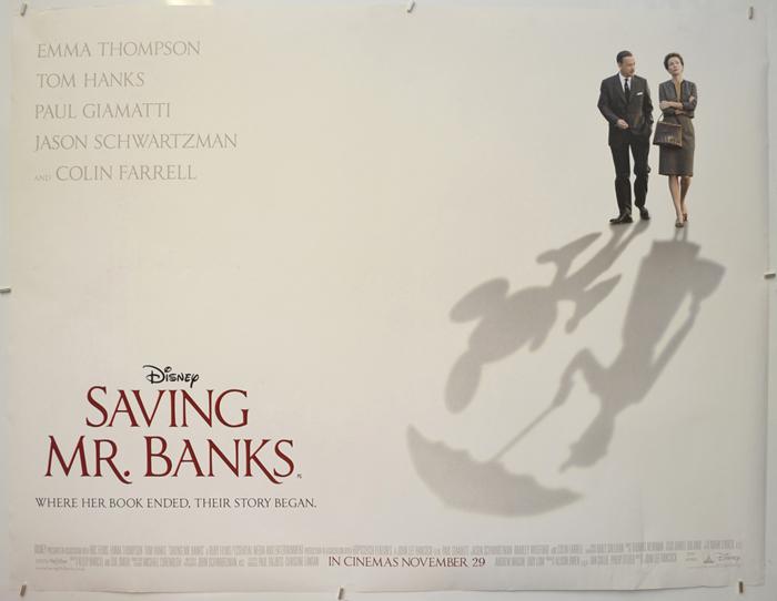 Saving Mr. Banks - Original Cinema Movie Poster From pastposters ...