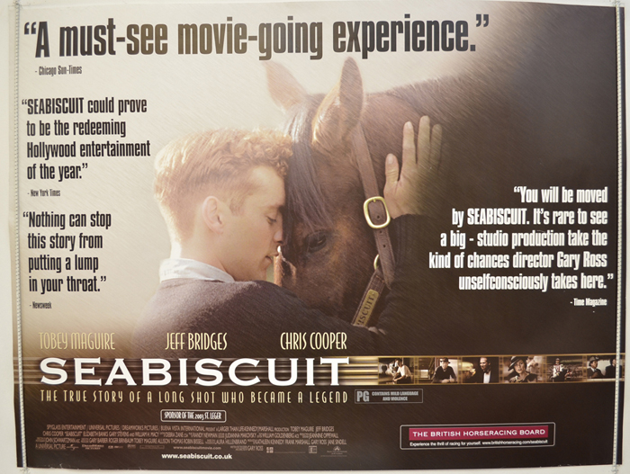 Seabiscuit - Original Cinema Movie Poster From pastposters.com ...
