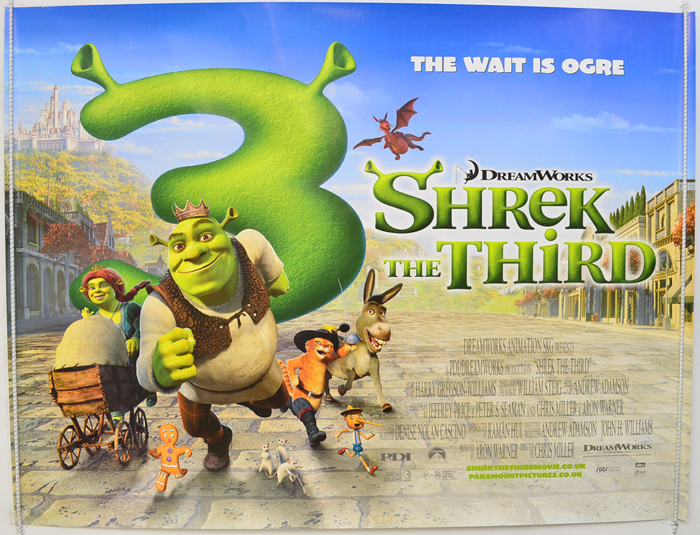 Shrek The Third - Original Cinema Movie Poster From pastposters ...