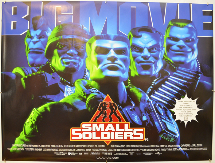 Small Soldiers - Original Cinema Movie Poster From pastposters.com ...