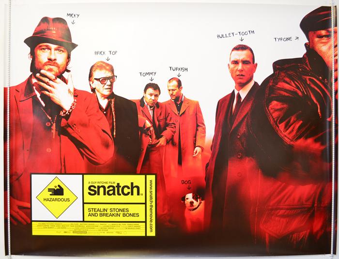 Snatch - Original Cinema Movie Poster From pastposters.com British ...