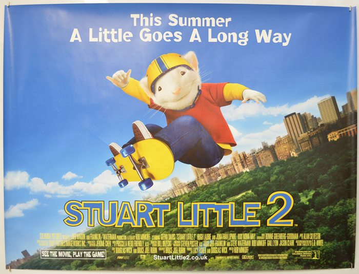 Stuart Little 2 - Original Cinema Movie Poster From pastposters ...