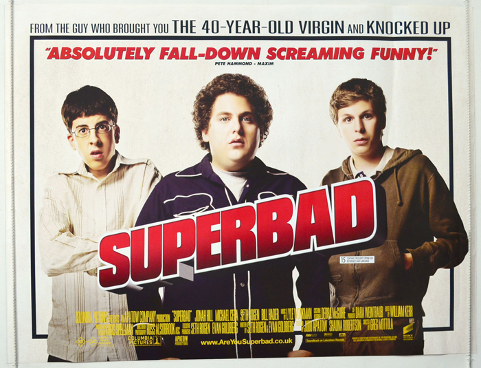 Superbad - Original Cinema Movie Poster From pastposters.com ...