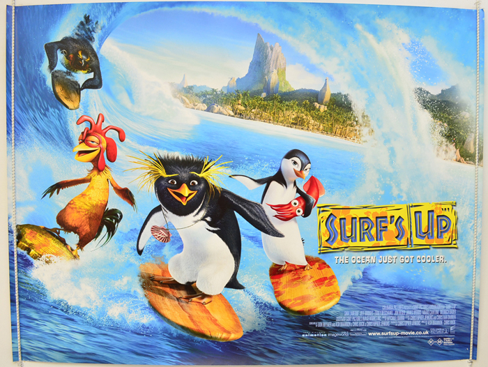 Surf S Up Original Cinema Movie Poster From Pastposters Com British Quad Posters And Us 1
