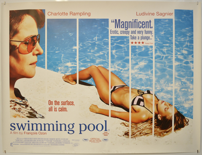 Swimming Pool - Original Cinema Movie Poster From ...