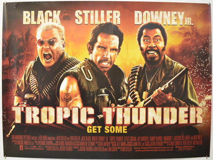 Resultado de imagen para tropic thunder poster