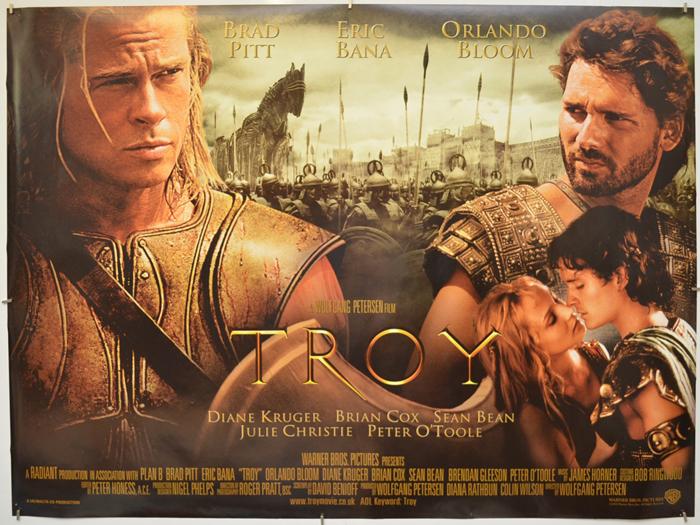 Troy - Original Cinema Movie Poster From pastposters.com British ...