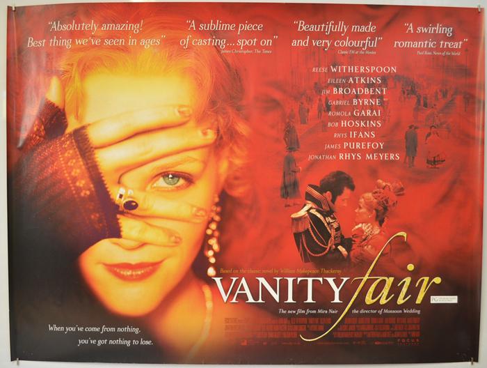 Vanity Fair - Original Cinema Movie Poster From pastposters.com ...
