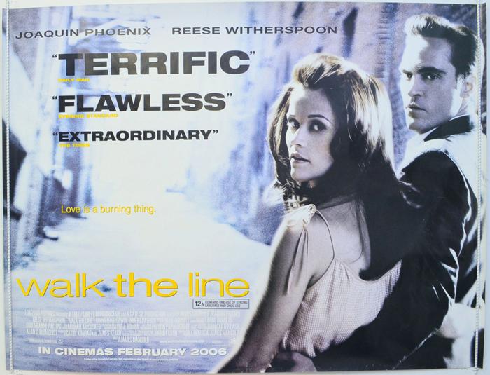 Walk The Line - Original Cinema Movie Poster From pastposters.com ...