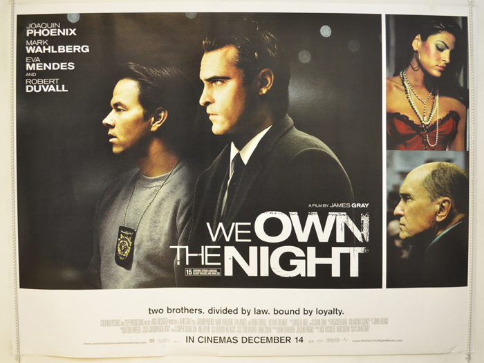 We Own The Night - Original Cinema Movie Poster From pastposters ...