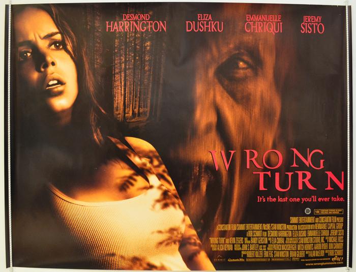 Wrong turn movie series