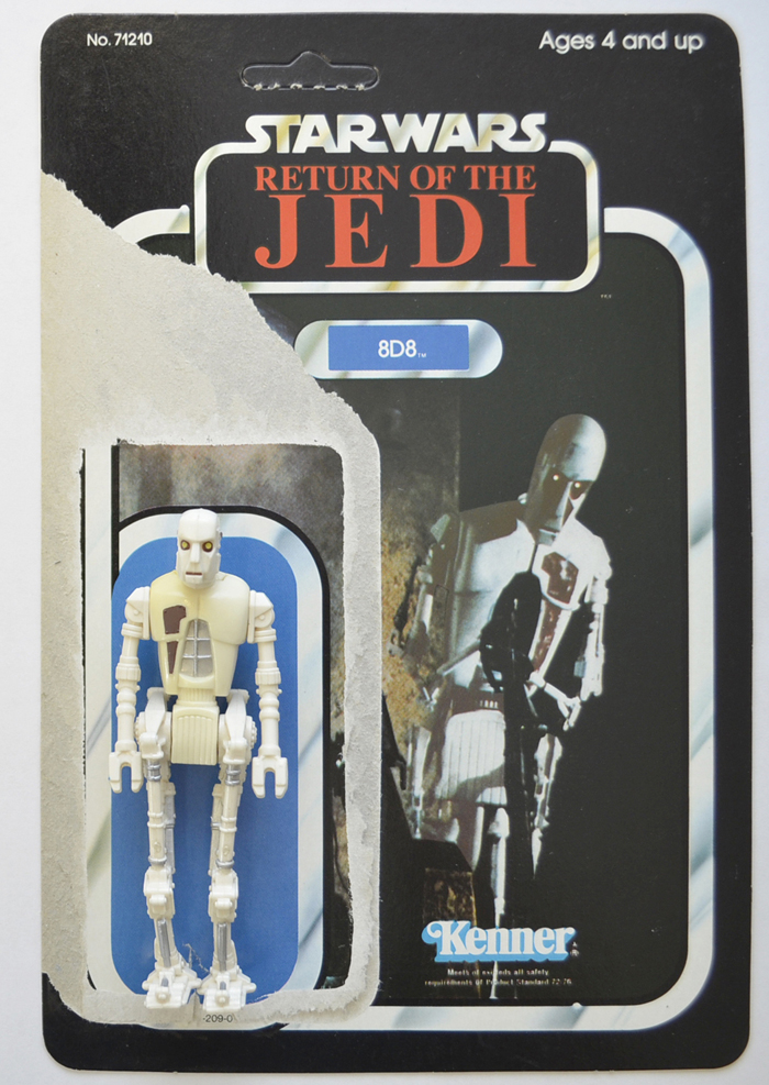 Vintage Star Wars Figure - 8D8