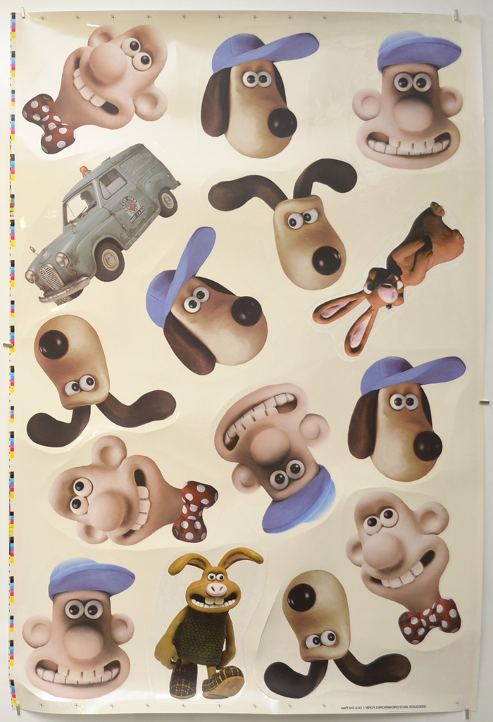 Wallace And Gromit In The Curse Of The Were-Rabbit <p><i> (Cinema Window Clings) </i></p>